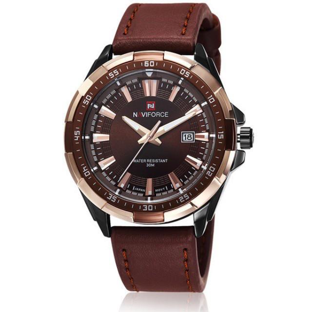 Классические мужские часы NAVIFORCE ADVANTER 9056