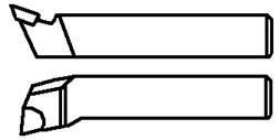Резец подрезной отогнутый (Украина - Крам.) 40х25х200 ВК8,Т5К10,Т15К6