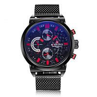 Спортивные мужские часы NAVIFORCE BRUTTO RED 9068