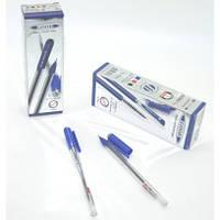 Ручка шариковая 0,7мм TD-168 синий цвет стержня