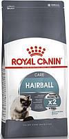 Сухой корм для котов Роял канин (Royal Canin Hairball Care) для уменьшения образования комочков шерсти, 0,4 кг