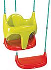 Гойдалка дитяча підвісна 2в1 Smoby (310194) з захистом, фото 2