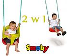 Гойдалка дитяча підвісна 2в1 Smoby (310194) з захистом, фото 3