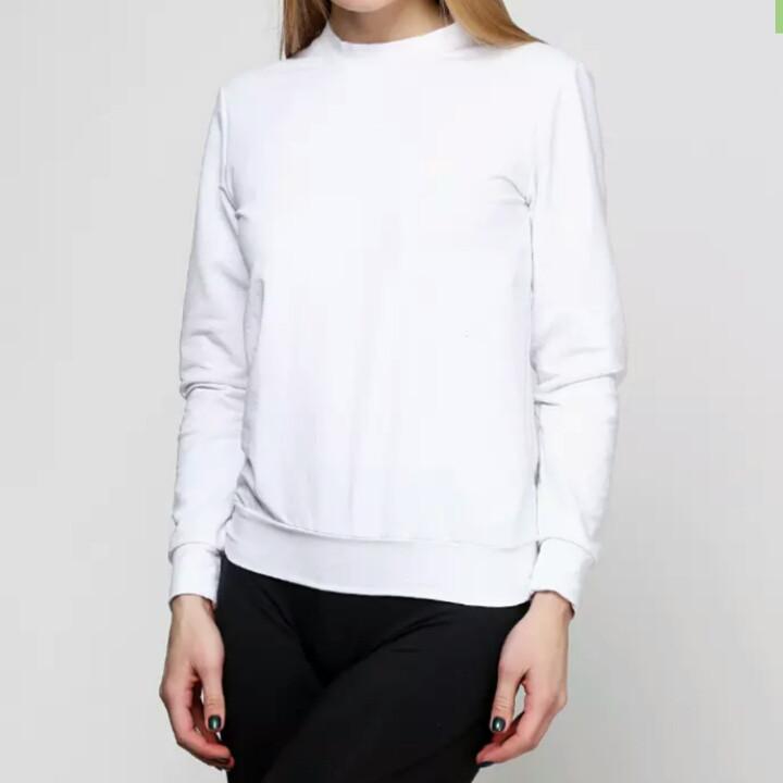 1bd4a81ca7c99 Свитшот женский, белый, цена 190 грн., купить в Одессе — Prom.ua (ID ...