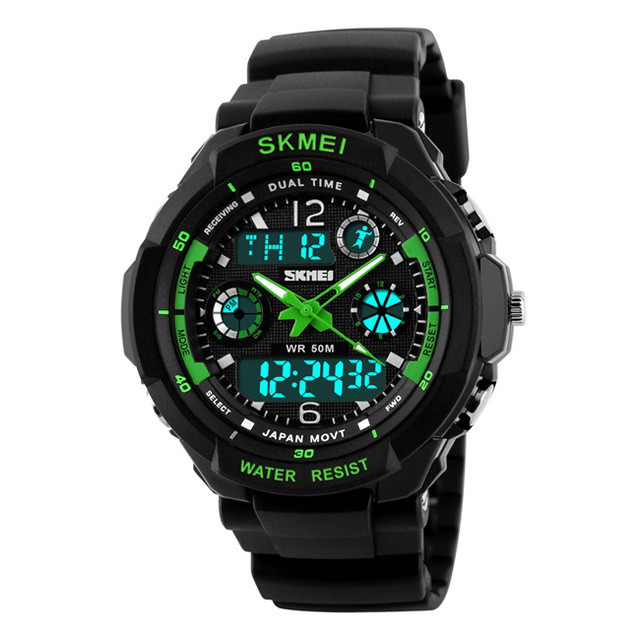 Спортивные мужские часы SKMEI S-SHOCK 0931 GREEN