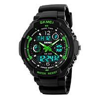 Спортивные мужские часы SKMEI S-SHOCK 0931 GREEN, фото 1
