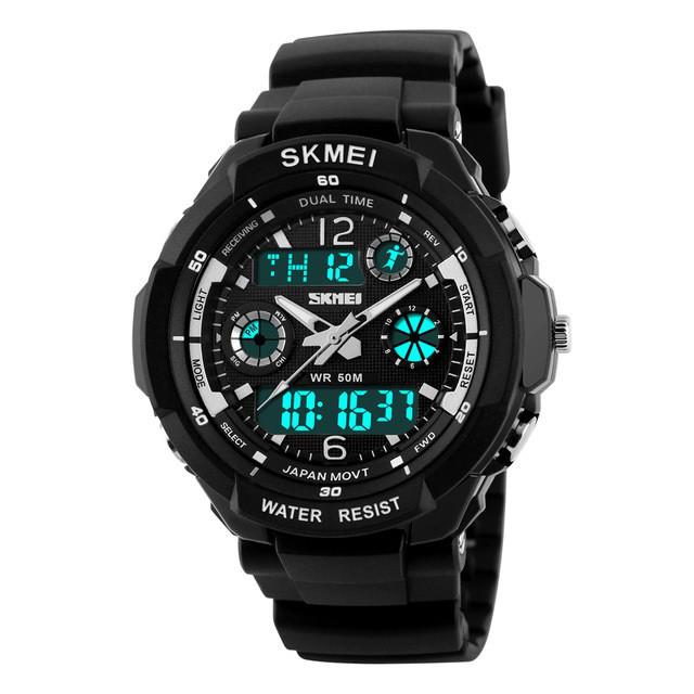 Спортивные мужские часы SKMEI S-SHOCK 0931 BLACK