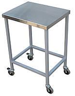 Стол- подставка передвижной, без борта 600х600х850