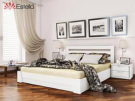 Ліжко з підйомним механізмом Селена (білий)
