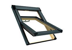 Мансардное окно Roto Q-4 H 3С 5/7 (двухкамерный стеклопакет с Аргоном)