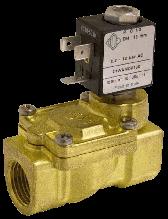 Электромагнитный клапан для воздуха 21WA4I0V130 (ODE, Italy), G1/2