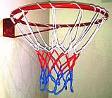 Кольцо баскетбольное облегченное с сеткой, фото 2
