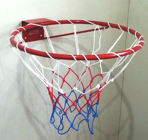 Кольцо баскетбольное облегченное с сеткой