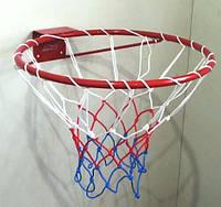 Кольцо баскетбольное облегченное с сеткой, фото 1