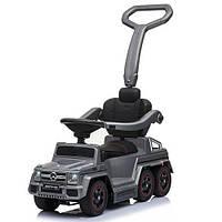 Детский двухместный электромобиль толокар Mercedes M 3853 EL-11