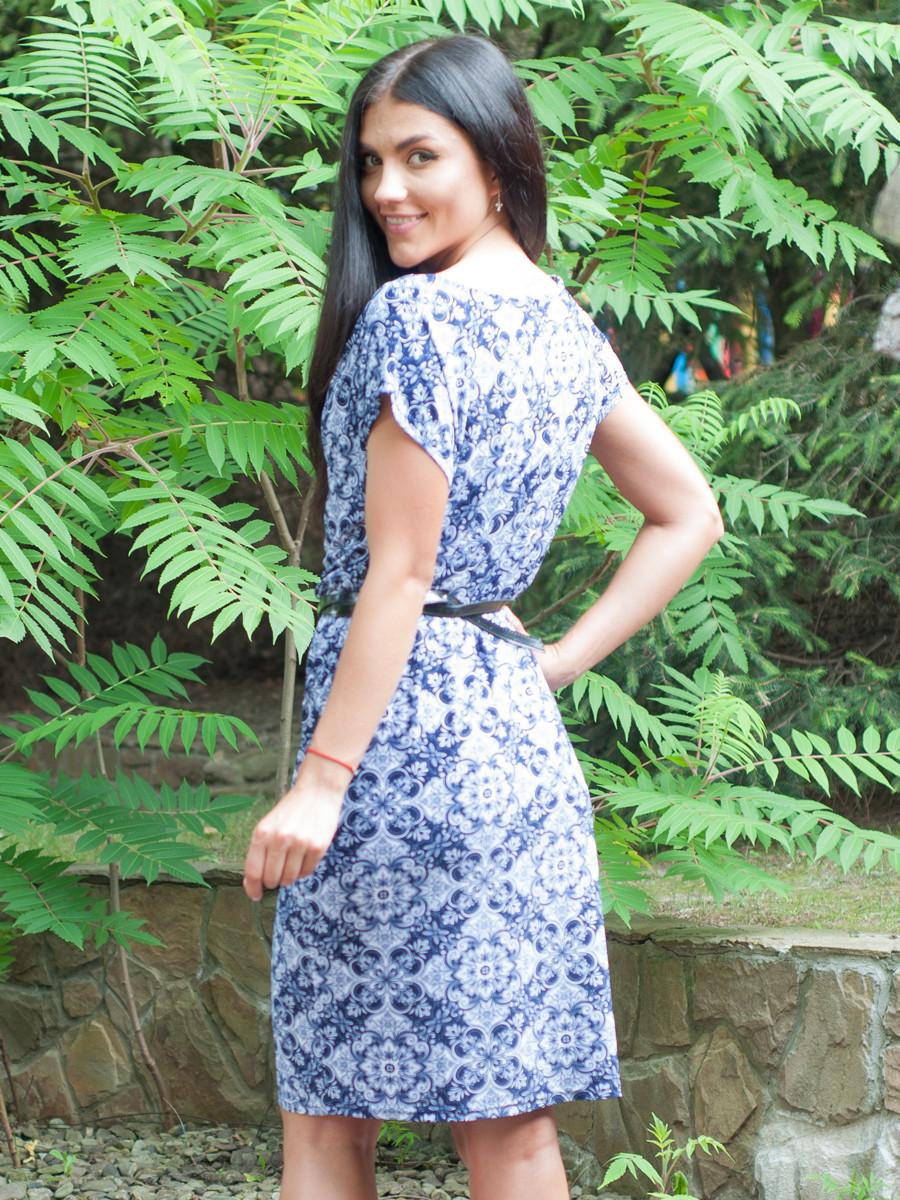 Женское платье на лето по колено 46,48,50,52