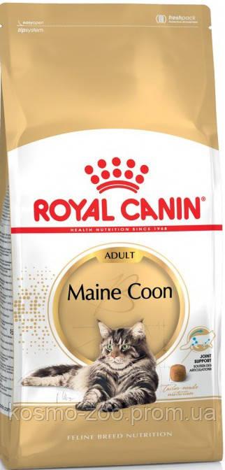 Сухой корм  Роял канин для котов породы мейн кун (Royal Canin Maine Coon Adult) , 4 кг
