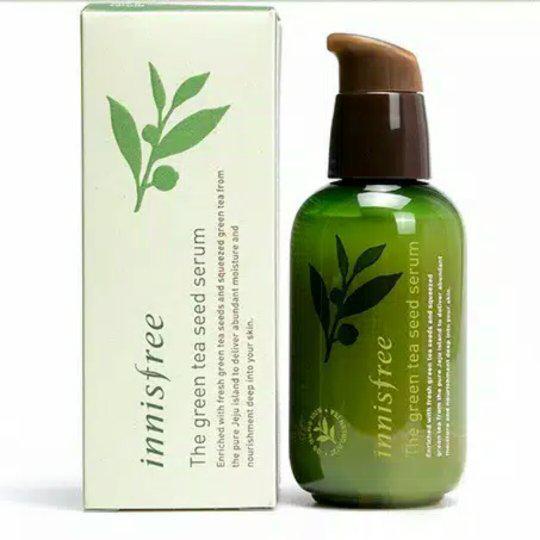 Innisfree Увлажняющая Сыворотка Зеленый чай Green Tea Seed Serum 80ml