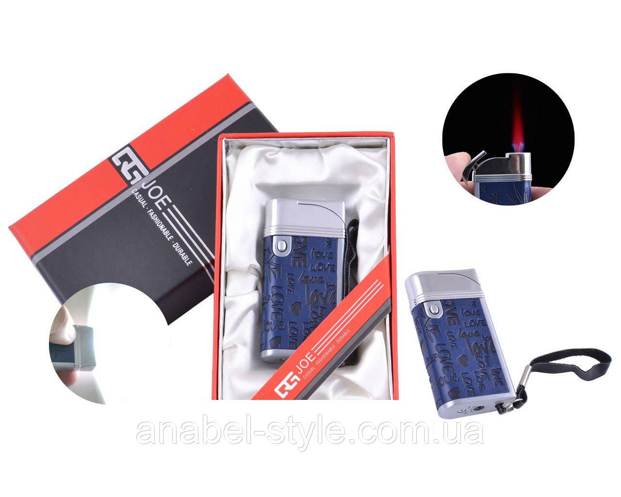 Зажигалка в подарочной упаковке JOE (Турбо пламя) №4032-5 Код 120262
