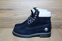 Ботинки женские в стиле Timberland код товара OD-3047. Темно-синие
