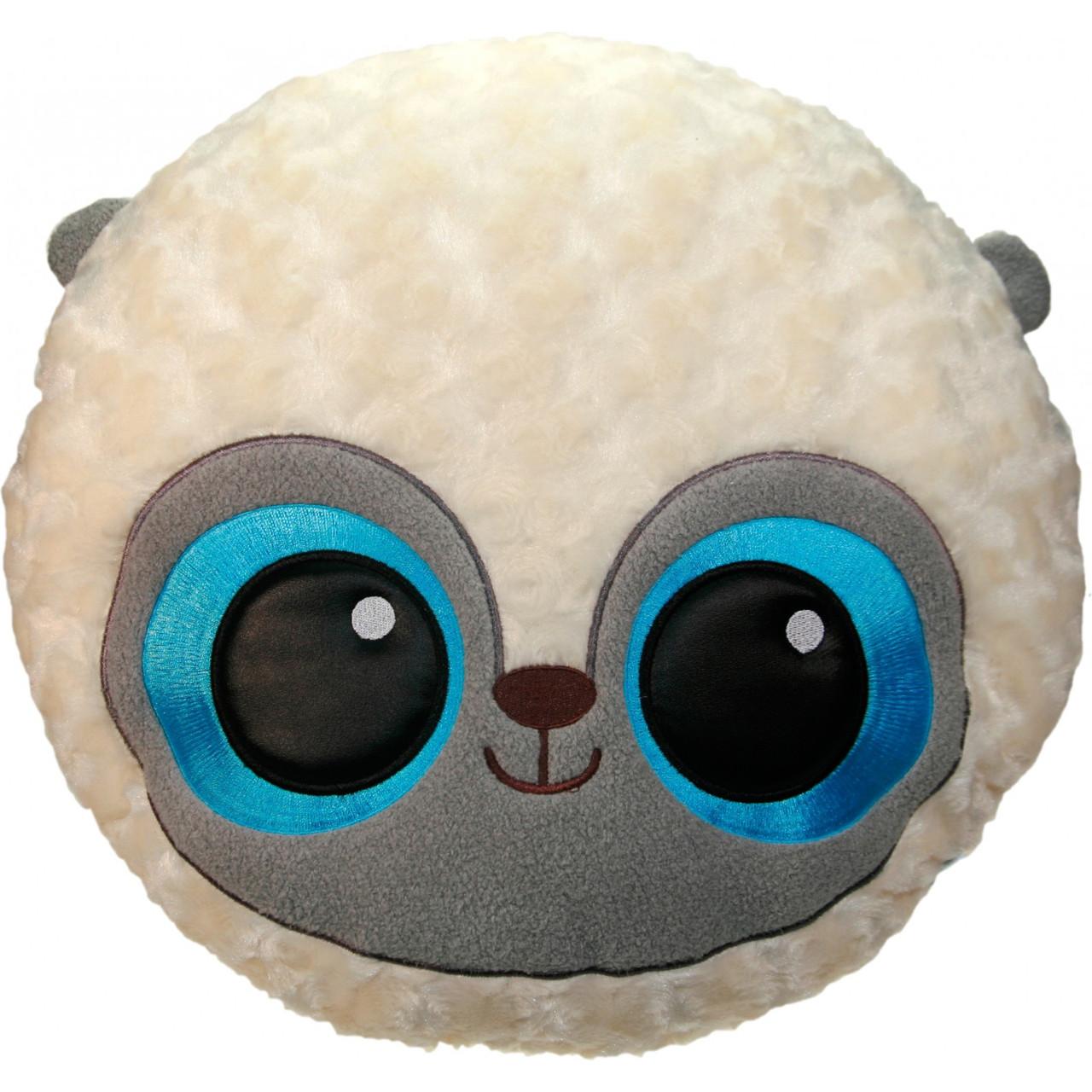 Мягкая игрушка Yohoo Лемур шарик голубой