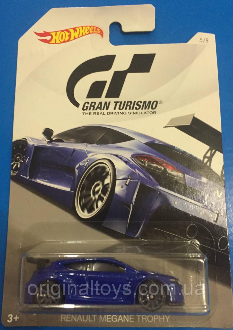 Автомобиль Hot Wheels серия Gran Turismo , Renault Megane Trophy