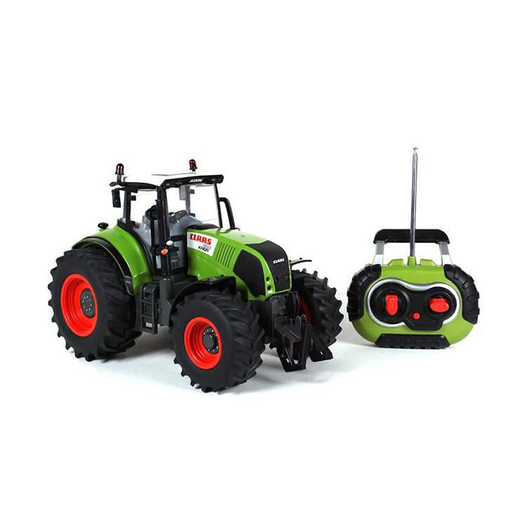 Радиоуправляемая игрушка SUNROZ Tractor Claas трактор на р/у 1:16 Зеленый (SUN1219)