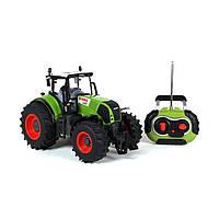 Радиоуправляемая игрушка SUNROZ Tractor Claas трактор на р/у 1:16 Зеленый (SUN1219), фото 1
