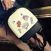 Силиконовый рюкзак с глазками, фото 4