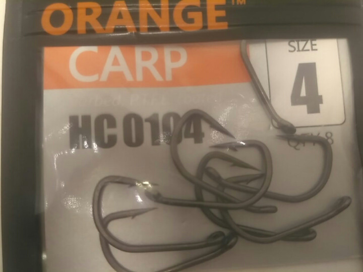 Гачки #4 Orange carp