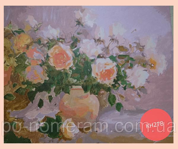 Картина своими руками розы