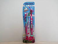 Детские зубные щетки Tabaluga для девочек от 0 до 6 лет 2 шт
