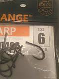 Карповые крючек#6  Orange carp, фото 4