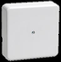 Коробка КМ41212-01 распаячная для о/п 75х75х20 мм белая (6 клемм 6мм2)