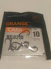 """Гачки ,Orange carp"""" #10"""
