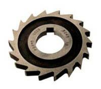 Фреза дисковая пазовая 50х 3х16 Р18, Z =14 затылованная