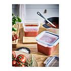 Крышка к контейнеру для хранения продуктов IKEA 365+ квадратная пластик 103.617.89, фото 2
