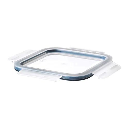 Крышка к контейнеру для хранения продуктов IKEA 365+ квадратная пластик 103.617.89