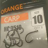 """Гачки ,,Orange carp"""" #10, фото 4"""