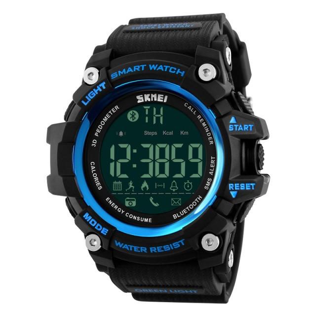 Спортивные мужские часы SKMEI 1227 SMART BLUE, фото 1