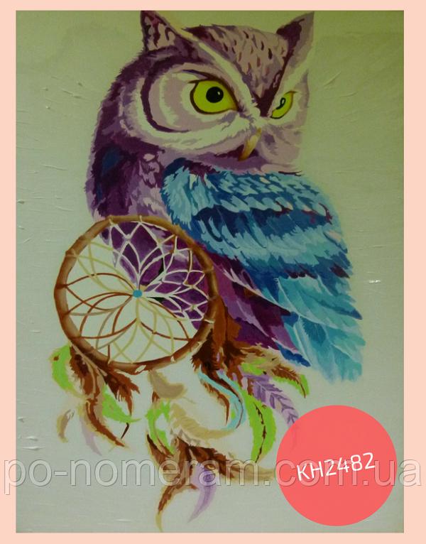 раскраска своими руками сова