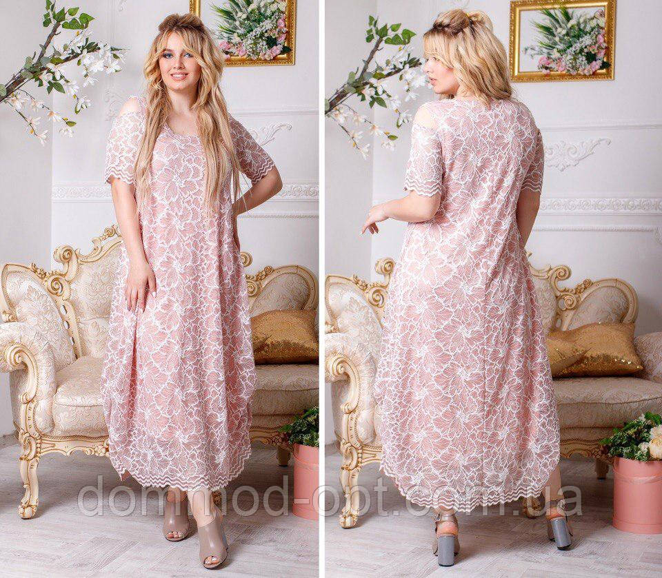 f9529521603 Женское летнее платье большого размера (р. 50-56) купить в Украине ...