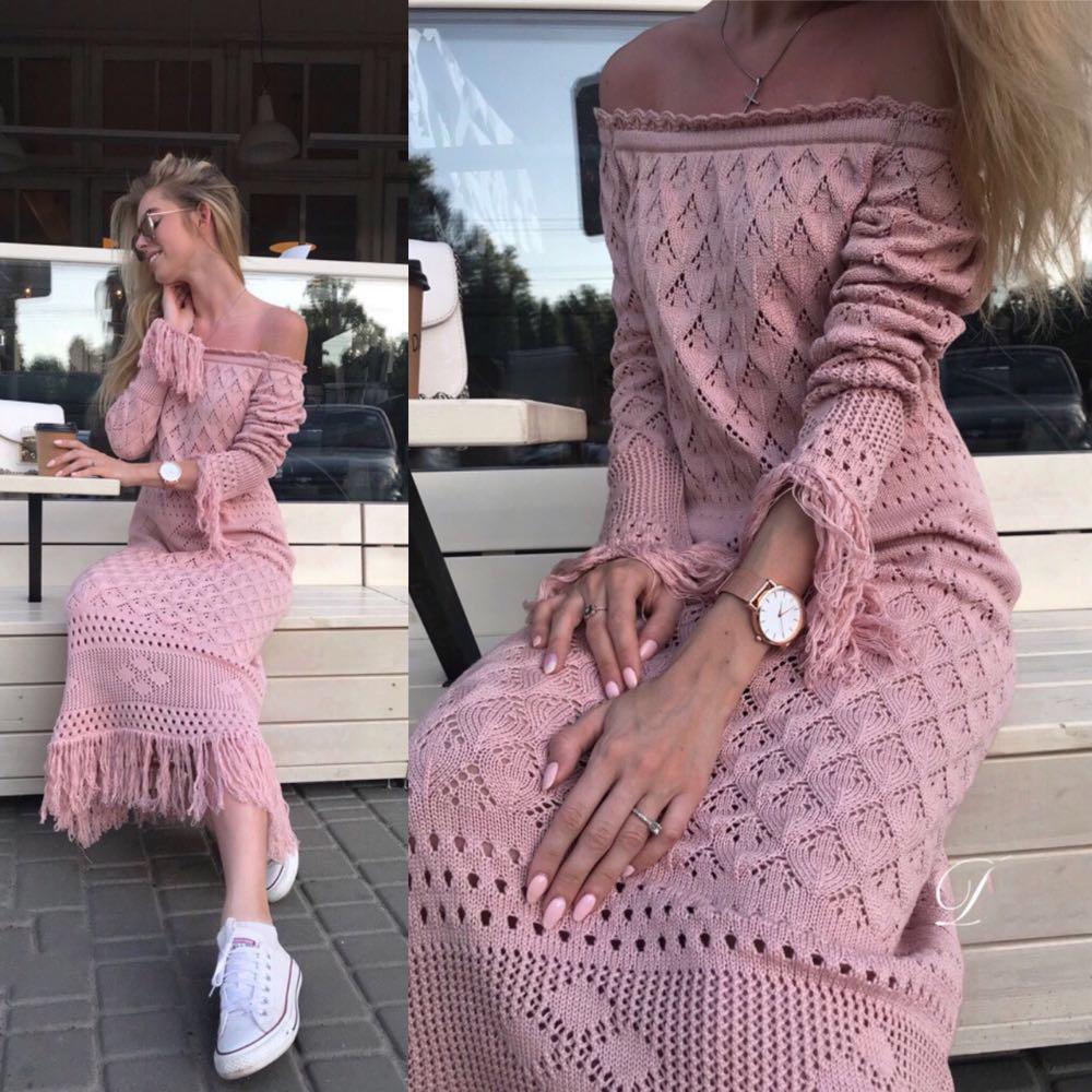 Шикарное платье из хлопка