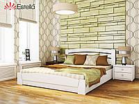 Кровать Селена Аури с подъемным механизмом, деревянная (буковая), производитель Эстелла, магазин МК