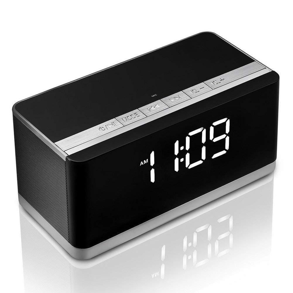 Портативная Bluetooth колонка + будильник + FM радиоприемник 3 в 1