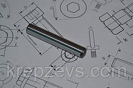 Штифт 12 мм цилиндрический с внутренней резьбой закаленный DIN 7979 D, ISO 8733, ISO 8735