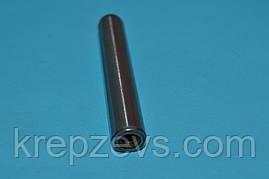 Штифт 20 мм цилиндрический с внутренней резьбой закаленный DIN 7979 D, ISO 8733, ISO 8735