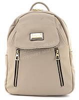 Прочный и надежный рюкзачок среднего размера из эко кожи Suliya art. 9528 хаки, фото 1