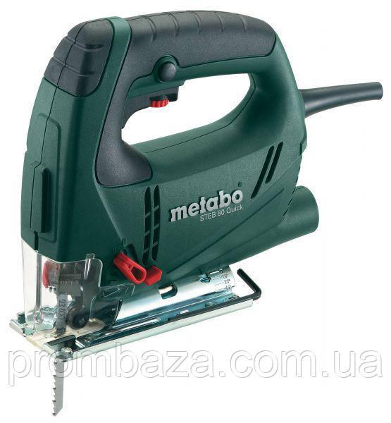 Лобзик Metabo STEB 80 Quick 590Вт