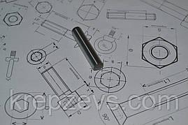 Штифт 3 мм цилиндрический закаленный DIN 6325, ГОСТ 24296-93